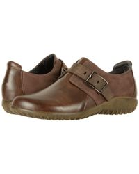 Naot Tane (pecan Brown Leather Combo) Women's Shoes