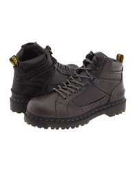Dr. Martens | Black Diego 7 Tie Lace To Toe Boot for Men | Lyst