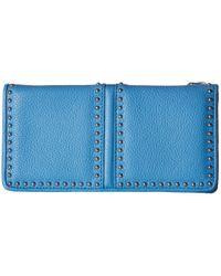 Brighton - Blue Pretty Tough Large Wallet - Lyst