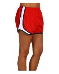 """Nike Red Dri-fittm Tempo Track 3.5"""" Short"""