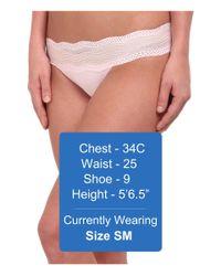 Cosabella   Pink Dolce Lowrider Bikini   Lyst