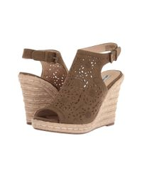 Not Rated - Brown Jobyna (khaki) High Heels - Lyst