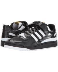 Adidas Originals - Black Forum Lo for Men - Lyst