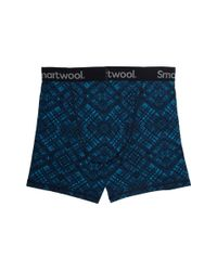 Smartwool - Blue Merino 150 Printed Boxer Brief (fig) Men's Underwear for Men - Lyst