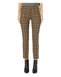 Adam Lippes Multicolor Double Face Wool Cigarette Pants