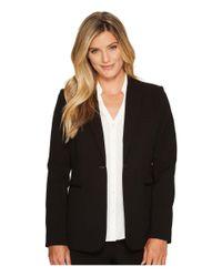 Calvin Klein Black 1 Button Jacket