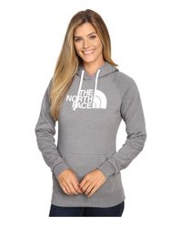 The North Face | Blue Half Dome Hoodie | Lyst