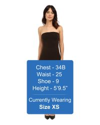 Wolford - Brown Fatal Dress - Lyst