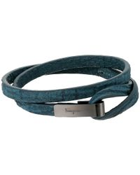 Ferragamo - Multicolor Shark Double Bracelet - Lyst