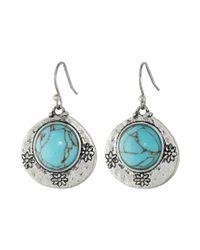 Lucky Brand Metallic Batik Bliss Earrings Jlru8363
