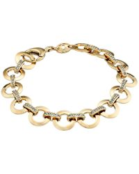Fossil | Metallic Glitz Charm Starter Bracelet | Lyst