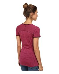 Smartwool - Pink Nts Micro 150 Pattern Tee - Lyst