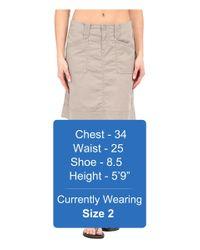 Aventura Clothing Gray Arden Skirt