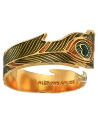 ALEX AND ANI - Metallic Peacock Ring Wrap - Precious Metal (14kt Gold Plated) Ring - Lyst