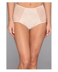 DKNY   Multicolor Underslimmers Signature Lace Brief Panty   Lyst