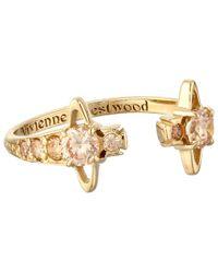 Vivienne Westwood   Metallic Reina Ring   Lyst