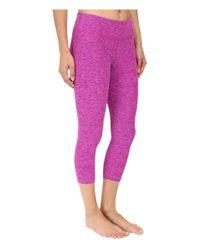 Beyond Yoga - Pink Capri Legging - Lyst