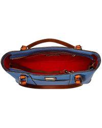 Dooney & Bourke - Blue Pebble Leather New Colors Small Lexington Shopper - Lyst