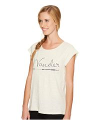 Carve Designs White Anderson Tee