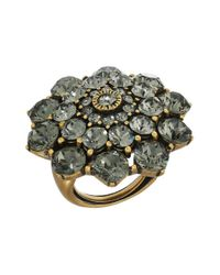 Oscar de la Renta | Multicolor Jeweled Ring | Lyst
