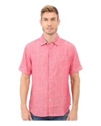 Tommy Bahama | Pink Party Breezer S/s for Men | Lyst