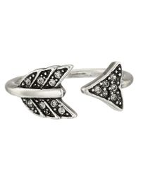 House of Harlow 1960 | Metallic Arrow Affair Ring | Lyst