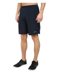 "Nike | Blue 9"" Challenger Short for Men 