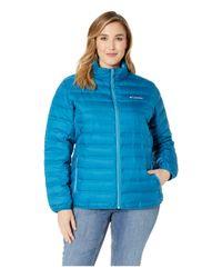 Columbia Blue Plus Size Lake 22 Jacket