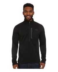 The North Face - Black Canyonlands 1/2 Zip Pullover for Men - Lyst