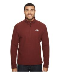 The North Face | Red Sds 1/2 Zip Pullover for Men | Lyst
