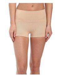 Spanx | Natural Everyday Shaping Panties Seamless Boyshort | Lyst