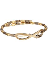ALEX AND ANI | Metallic Infinite Love Wrap Bracelet | Lyst