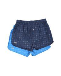 Lacoste   Blue Men's Croc Boxers for Men   Lyst