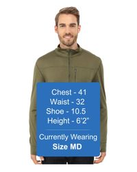 Mountain Khakis - Natural Rendezvous Micro Qtr Zip Shirt for Men - Lyst