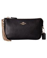 COACH | Black Nolita 19 Shoulder Bag  | Lyst