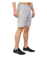 2xist - Gray Trainer Tech Shorts for Men - Lyst