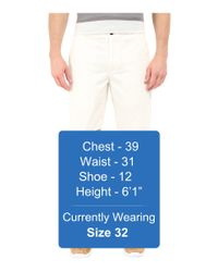 Dockers - White Core Flat Front Straight Shorts for Men - Lyst