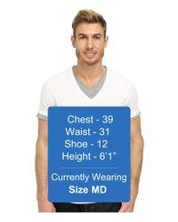 BOSS Orange | White Tulis Short Sleeve Double Layer V-neck for Men | Lyst