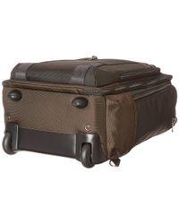 Tumi Brown Alpha Bravo - Peterson Wheeled Backpack