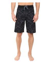 Asics - Black Boardshorts 10in for Men - Lyst
