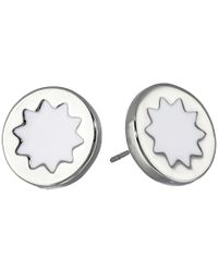 House of Harlow 1960 | White Enameled Sunburst Studs Earrings | Lyst