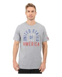 Under Armour - Multicolor Usa Country Pride Tri-blend Short Sleeve Tee for Men - Lyst