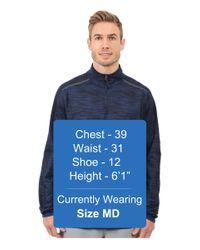 Under Armour - Blue Ua Heatgear® Podium 1/4 Zip for Men - Lyst