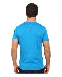 Arc'teryx - Blue 3 Peaks Short Sleeve Crew for Men - Lyst