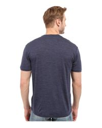 Icebreaker - Blue Tech Lite Short Sleeve Crewe for Men - Lyst