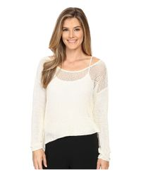 Prana - White Liana Sweater - Lyst