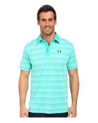 Under Armour - Blue Coldblack Chip In Stripe for Men - Lyst