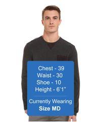 7 Diamonds - Gray Cain Long Sleeve Shirt for Men - Lyst