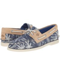 Sperry Top-Sider - Natural A/o 2-eye Chambray for Men - Lyst