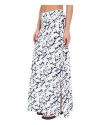 Carve Designs - Metallic Mahalo Skirt - Lyst